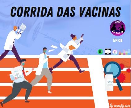 ASM em Pauta: Vacinas da COVID-19: Quem ganha essa corrida? – Microbiando