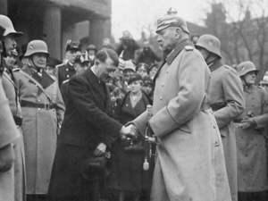 Hitler y Hindenburg