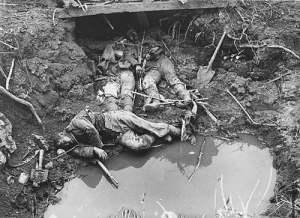 Vida y muerte en las trincheras