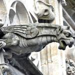 Why architects built gargoyles on cathedrals?