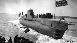 El HMS Perseus.