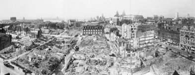 """Liverpool después del """"Blitz"""". (1941)"""