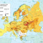 Alcance del elemento Cesio 137 en Europa