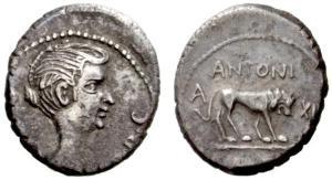 Fulvia fue la primera mujer no mitológica en aparecer en monedas romanas.