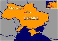 Mapa Chernobil