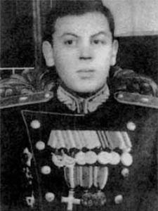 Joven Vasily Stalin