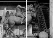 Estatua de Franco decapitada