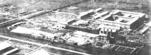 Las instalaciones de la Unidad 731
