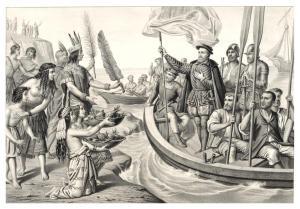 Cortés llega a México
