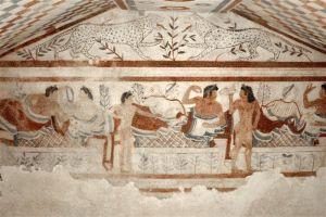 La libertina sexualidad etrusca.