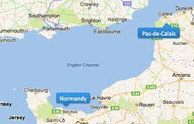 Pas dde Calais y Normandy