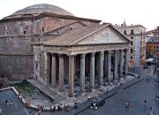 Panteón de Agripa, Roma., puzolana