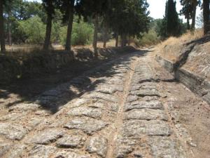 El Petrocarril de la Antigua Grecia.