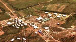 Jonestown desde el aire