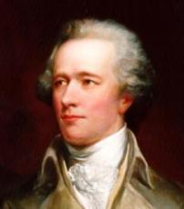 Joven y vanidoso Alexander Hamilton