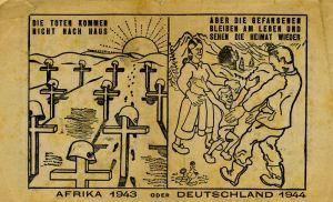 """Propaganda """"erótica"""" en la Segunda Guerra Mundial."""