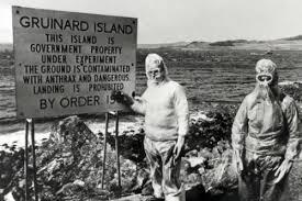 Limpiando la Isla de Gruinard