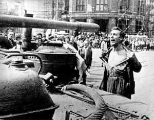 Protestas en la Primavera de Praga