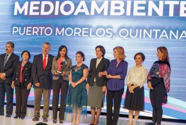 Reconocen esfuerzo de Laura Fernández por buenas prácticas en materia de medio ambiente