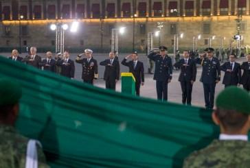 Ceremonia en Memoria de las personas que perdieron la vida en el Sismo de 1985
