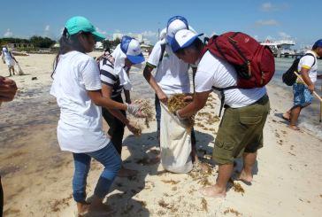 Iniciarán en Bahía Petempich jornadas de limpieza de playas