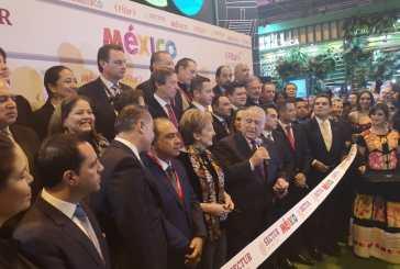 Inauguró Miguel Torruco Pabellón de Mexico Fitur
