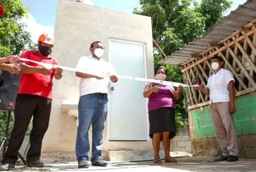 Nivardo Mena Villanueva encabeza entrega de obras