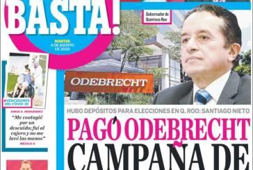 Odebrecht pagó la campaña de Carlos Joaquín