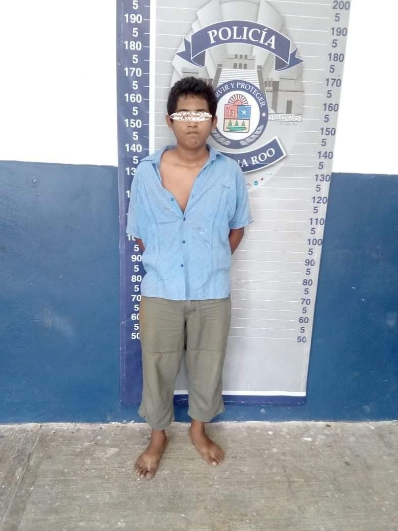 Policías dejan libre a un ladrón, recuperan lo robado, pero se lo niegan a la víctima en Chetumal