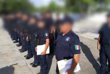 Un par de policías municipales repararon daños a una víctima en Chetumal