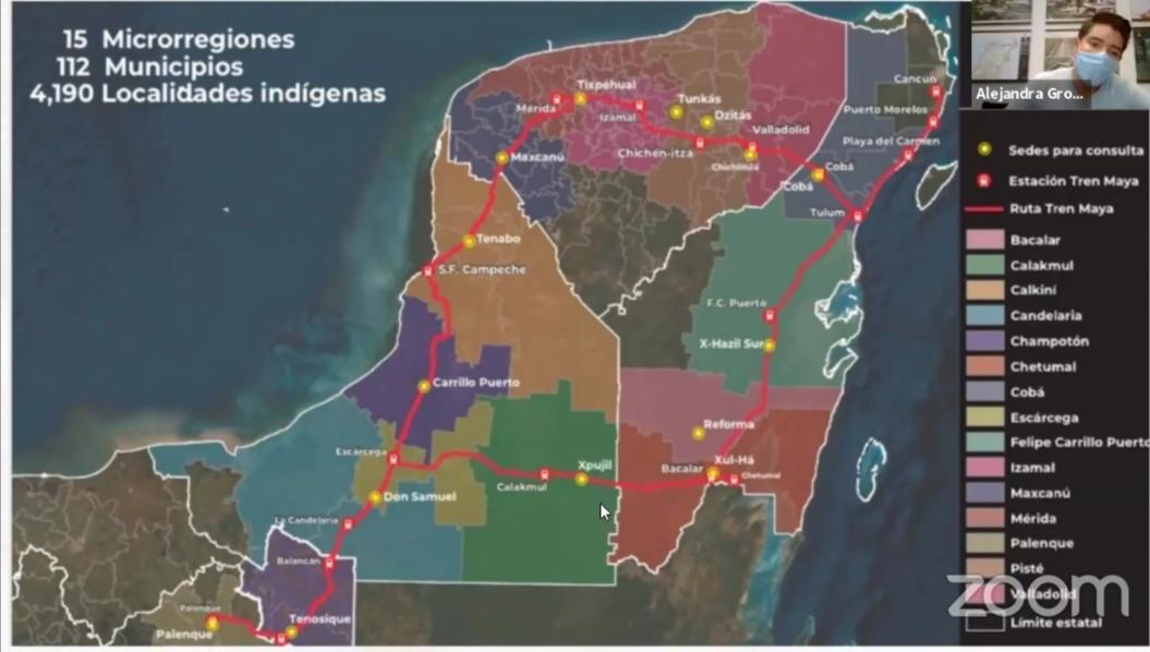 Obtienen ambientalistas suspensión de obras del Tren Maya en el Tramo Dos