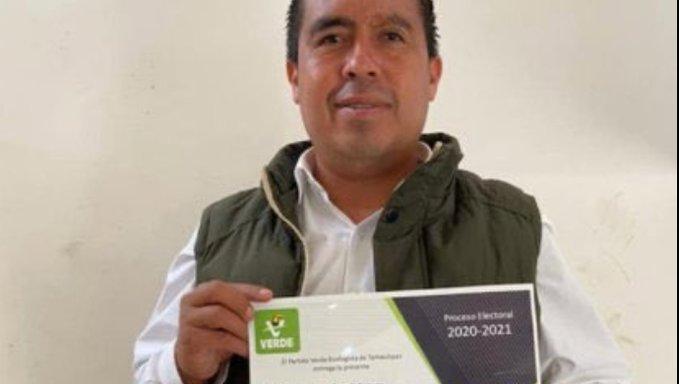 Asesinan a candidato del PVEM en Tamaulipas