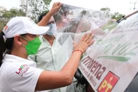 """LOS CANDIDATOS DE """"JUNTOS HACEMOS HISTORIA"""" TENEMOS LAS MEJORES PROPUESTAS: LAURA FERNÁNDEZ"""