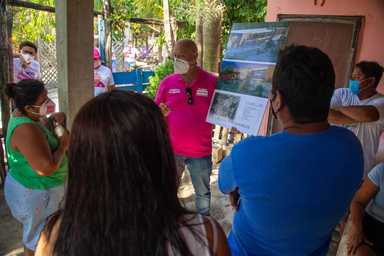 Puerto Morelos ya decidió por el cambio: Tirso Esquivel Ávila