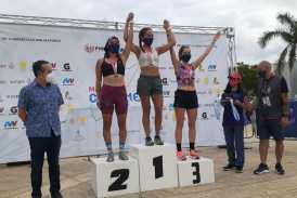 Alan Carrillo y Daniela Córdova se adjudican el primer Maratón Cozumel 2021