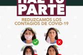 REDUZCAMOS LOS CONTAGIOS DE COVID-19