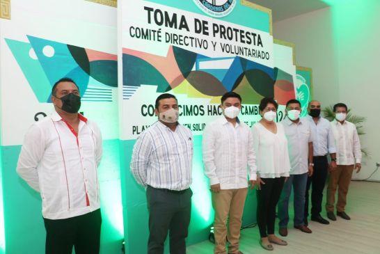 RINDE PROTESTA NUEVO SECRETARIO DE TAXISTAS