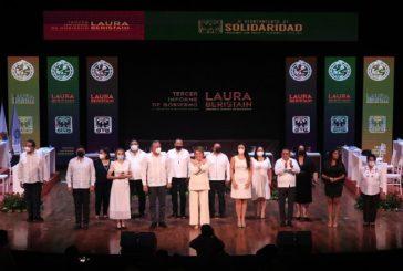 """""""AQUÍ, AHORA Y SIEMPRE, POR EL FUTURO DE SOLIDARIDAD"""": LAURA BERISTAIN"""