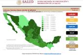 Sigue a la alza el Covid-19 en México