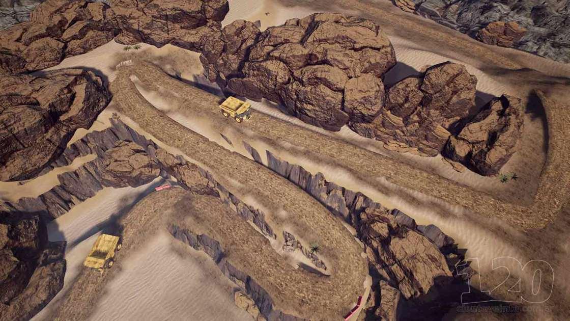 Underground mine and truck - cientoveinte