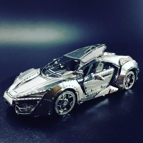 Car Metal Puzzle