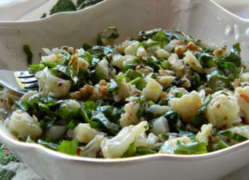Nar Ekşili Karnabahar Salatası Tarifi