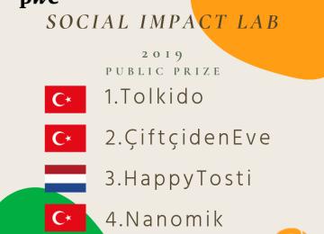 PwC, Sosyal Etki Lab 2019 Finalistiyiz