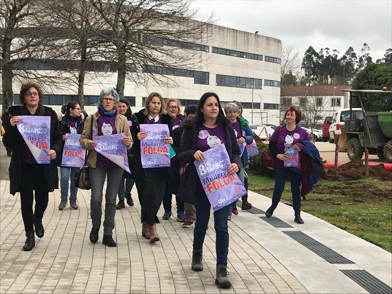 A CIG rexistra a convocatoria de Folga Xeral de Mulleres de 24 horas para o vindeiro 8 de Marzo