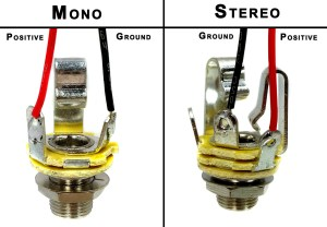 Wiring Mono and Stereo Jacks for Cigar Box Guitars, Amps