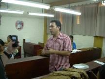 Mario Perez, Joya de Nicaragua Sales Manager and our tour guide  - Cigar Safari March 2011