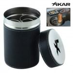 Xikar Leatherbound Executive Ash Can & Cigar Saver