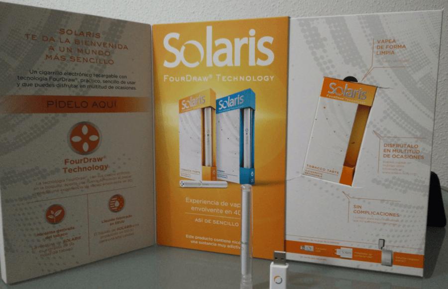 Solaris cigarrillos electronicos