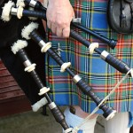 Bagpipes in Glasgow