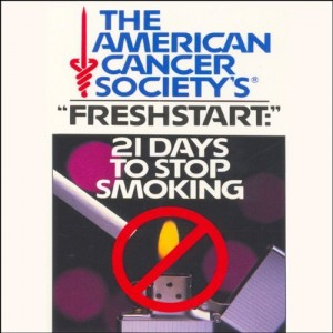 Freshstart: 21 Days to Stop Smoking by The American Cancer Society